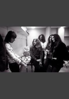 Early LSkynyrd Backstage