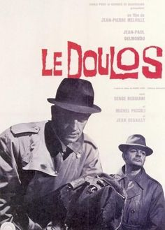 Le Doulos Melville film poster
