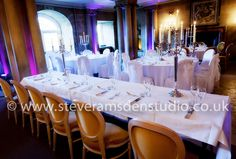 Grecian-Hall--Castle-Howard-Head table in the Grecian Hall