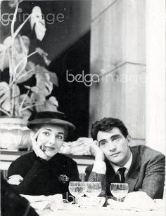 La cantatrice Maria Callas et Walter Chiari a Milan en 1955 ©Mario Dondero/Leemage