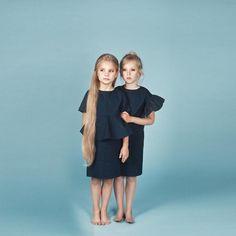 Viki dress navy / Angel dress navy