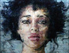 Amazing portrait by the artist Harding Meyer. #portrait #painting #art #arte #pintura #paint #retrato