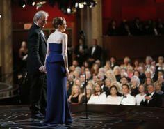 Bill Murray and Amy Adams as presenters at the 2014 Academy Awards Oscars 2014, Oscar Fashion, Bill Murray, Amy Adams, Academy Awards, Inevitable, Backstage, Presentation, Formal Dresses