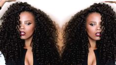MY FABULOUSSS CROCHET BRAIDS ft. OUTRE BAHAMAS CURL by tastePINK