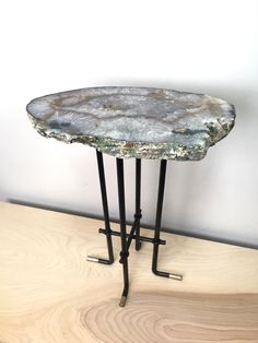 Agate table by reworks;   www.reworks-works.com