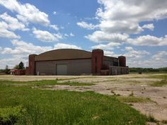 Eerie Indiana: Abandoned airport at Jefferson Proving Ground, Madison, IN