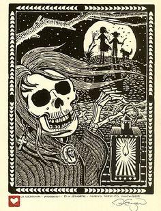 La leyenda de La Llorona. love me some mexican folklore.