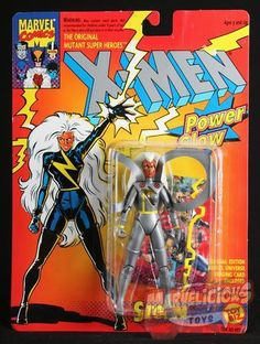 TOY BIZ X-MEN POWER GLOW STORM // Marvelicious Toys - The Marvel Universe Toy & Collectibles Podcast