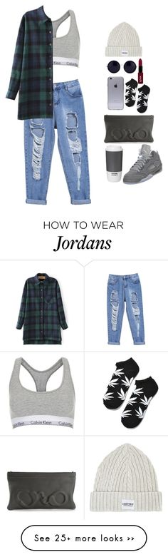 """""""grey"""" by millssgirl on Polyvore featuring Topshop, A Question Of, The Row, HUF, Vlieger & Vandam and ROOM COPENHAGEN"""