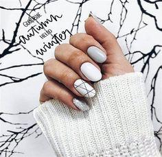 34 Stunning Silver Nail Art Designs (1)