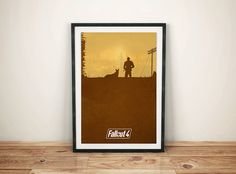 Fall Out Print by GreyFoxDesign on Etsy