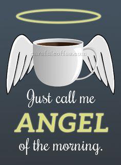Nuestro ángel matutino ☕
