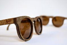 EcoNotas.com: Gafas de Sol de Cáñamo y Fibra Lino, Diseño Ecores...