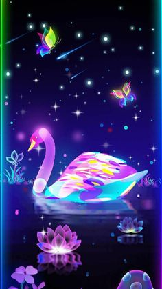 By Artist Unknown. Cute Wallpaper For Phone, Pink Wallpaper Iphone, Butterfly Wallpaper, Cute Wallpaper Backgrounds, Butterfly Art, Love Wallpaper, Pretty Wallpapers, Colorful Wallpaper, Galaxy Wallpaper