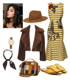 """""""Untitled #2"""" by cjzj on Polyvore featuring Dolce&Gabbana, Marni, Janessa Leone, See by Chloé, Henri Bendel and Olivia Burton"""