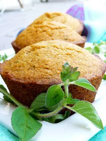 The Daily Dietribe: Herbed Corn Muffins (Gluten-Free, Vegan, Refined Sugar-Free)