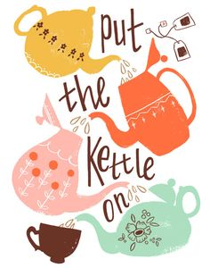 We need the kettle on with snow falling and temps in the 20's on April 15th!