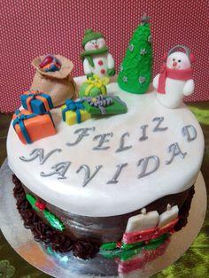 Layer Cake Navidad blanca