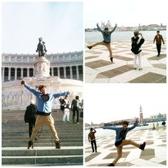 More photos from Eunhyuk's Italy trip! :) i love this man. :D ^^
