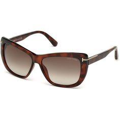6cdb9bda9f23 Tom Ford for woman (Lindsay) - (viola\/altro\/bordeaux grad), Designer  Sunglasses Caliber 58