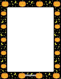 Printable Halloween stationery and writing paper. Free PDF downloads at http://stationerytree.com/download/halloween-stationery/.