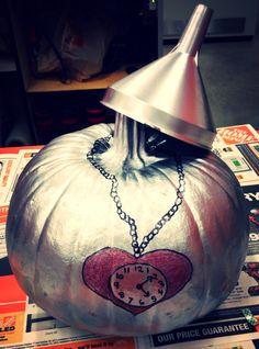 Tin man pumpkin (wizard of oz)
