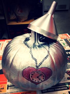 Tin man pumpkin (wizard of oz)