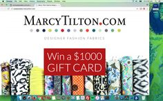 Win A $1,000 Marcy Tilton Gift Card