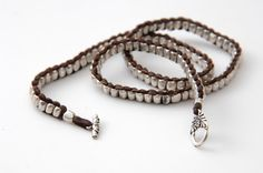 Wrap Bracelet, Leather Cuff Bracelet