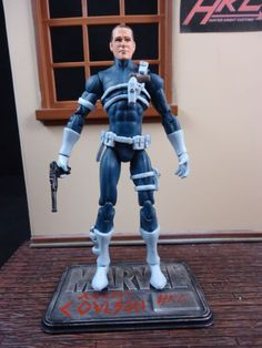 Agent Coulson (Clark Gregg Comic Book Style) (Marvel Universe) Custom Action Figure