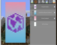 Minecraft Banner Patterns, Minecraft Banners, Minecraft Funny, Minecraft Plans, Amazing Minecraft, Minecraft Decorations, Minecraft Tutorial, How To Play Minecraft, Cool Minecraft Creations