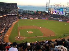 AT Park, Atlanta Braves vs. San Francisco Giants, 8/23/12, top of the second