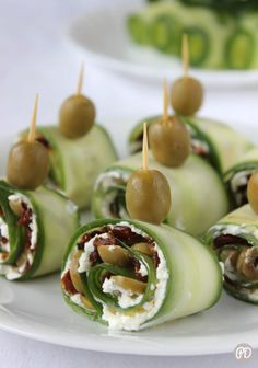 Healthy Party Snacks, Party Finger Foods, Appetizers For Party, Vegetarian Recipes, Snack Recipes, Cooking Recipes, Healthy Recipes, Tapas, Christmas Dishes