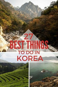 27 Best Things To Do In Korea -- this post is so helpful! It's full of beautiful photos and so many great ideas for my next trip to Korea