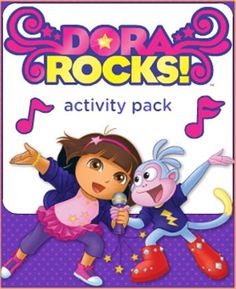 This Dora Rocks Activity Pack Has Lots Of Fun Learning Activities For Kids