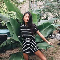 """""""mid blinking and hiding in plants or something cute little @beginningboutique playsuit.. new post on le blog"""""""