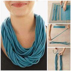 Realizzare una sciarpa fai da te