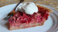Strawberry Rhubarb Custard Pie Video