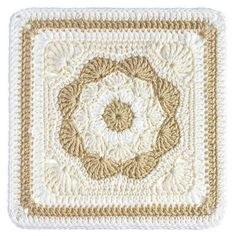 Harriet Square 12'' Top 10 FREE granny square patterns by The Lavender Chair.                                                                                                                                                                                 More