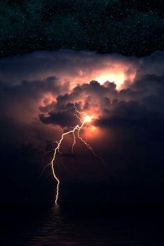 Lightning...