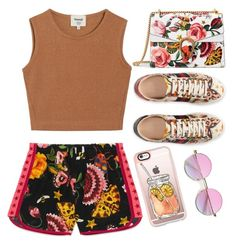 """""""Untitled #578"""" by queenzella ❤ liked on Polyvore featuring Samuji, Gucci and Casetify"""