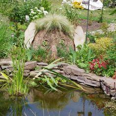 Do you watch Monty Dons gardening programme last night? The 'mud head' was brilliant - ears supplied by us! www.mhwoodland.co.uk #gardening #montydon #woodlandtheme #rustic #wood #mudhead by mhwoodland