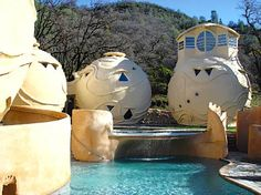 One of the oldest and most beautiful hot springs in California, Harbin Hot Springs is now operated as a non-profit retreat and workshop center. Located north of San Francisco, above the Napa Valley wine region, near Middletown.