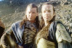 Elrond and Gil-galad ... self portrait. xD
