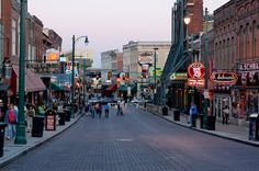 Memphis, TN!  Home to Graceland and Beale Street.  Great barbecue and wonderful music.