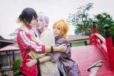 BAOZI and HANA(包子 & HANA) HashisukaKotetsu, wedjat(维达) Urashima Kotetsu Cosplay Photo - WorldCosplay