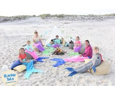 Swim into Summer with Blankie Tail™ Mermaid & Shark Blankets! Snuggle up at Summer Camp, bundle up at the beach, or cozy up on a camping trip...whatever the occasion Blankie Tails™ will make your Summer even more spectacular! #thesnuggleisreal