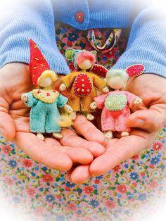 miniature bendy doll tutorial by Verity Hope