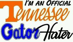 I will never understand how I ended up with a Gator fan.