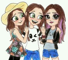 Drawing the bff. pin by ipak foto Cool Girl Drawings, Bff Drawings, Pretty Drawings, Amazing Drawings, Disney Drawings, Cartoon Drawings, Bff Pics, Photos Bff, Bff Pictures
